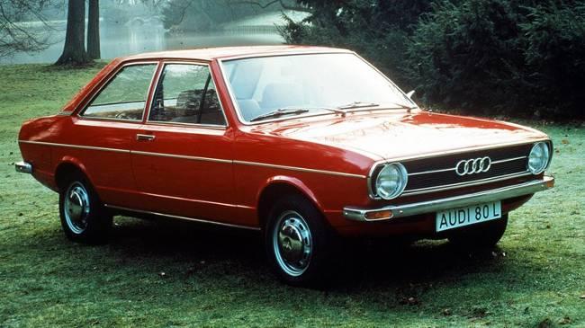 Audi 80 L 1973 года выпуска