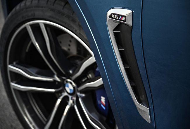 Жабра BMW X6M F86