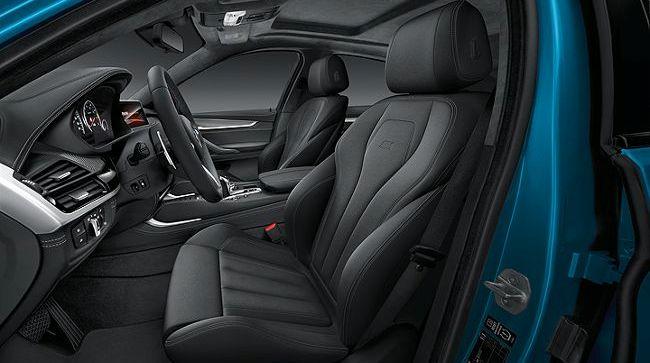 Интерьер BMW X6M F86