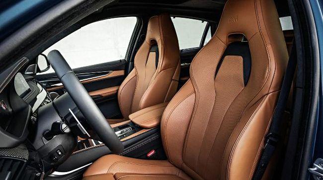 Спортивный салон BMW X6M F86