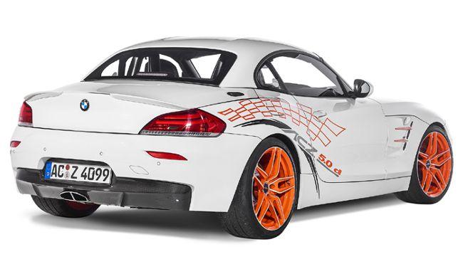 Задняя часть BMW ACZ4 5.0d