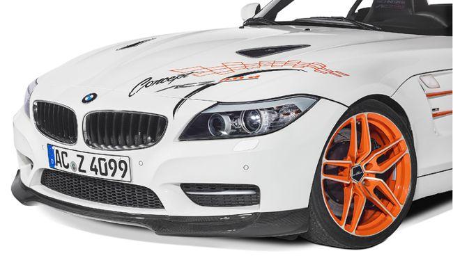 Передний спойлер BMW ACZ4 5.0d