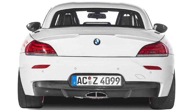 BMW AC Z4 50d - вид сзади