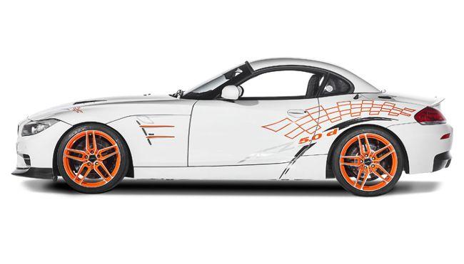 BMW ACZ4 5.0d - вид сбоку