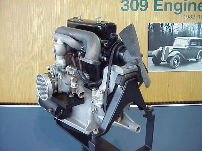 Мотор BMW M68 для 309-ой модели