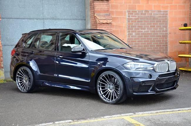 BMW X5 M50d F15 - тюнинг HAMANN - DS
