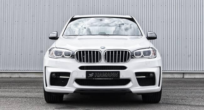 BMW X5 M50d F15 HAMANN - DS White