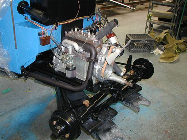 Engine DA2 - BMW 3-15 PS