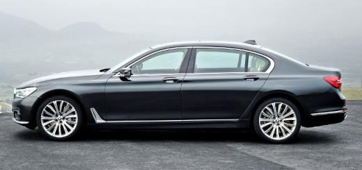 BMW 750Li xDrive G12 - вид сбоку