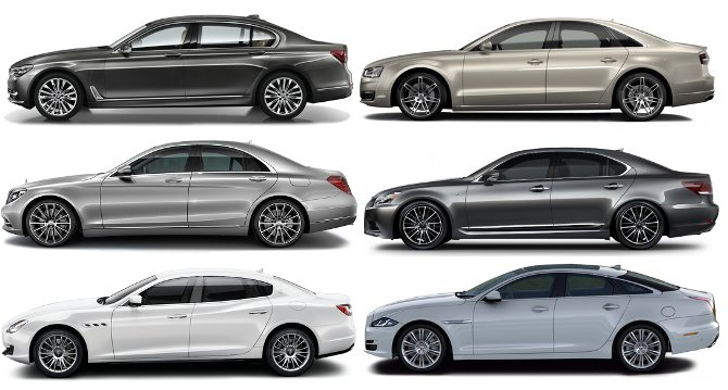 BMW G12 7 Series vs