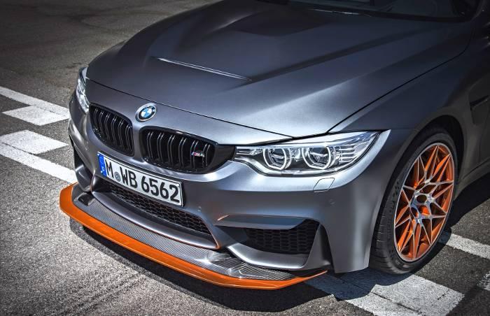 Выдвигающийся сплиттер BMW M4 GTS F82