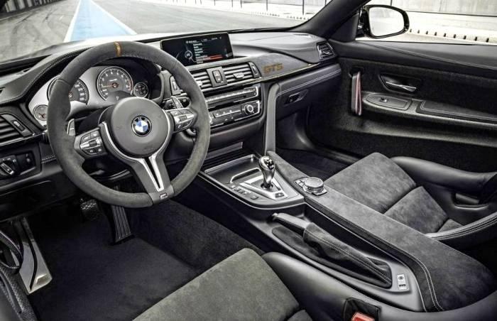 Салон BMW M4 GTS F82