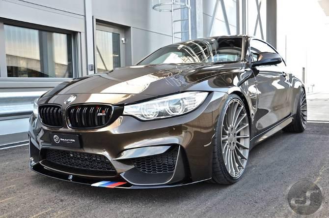 Тюнинг BMW M4 F82 в Pyrite Brown DS Automobiles - 1