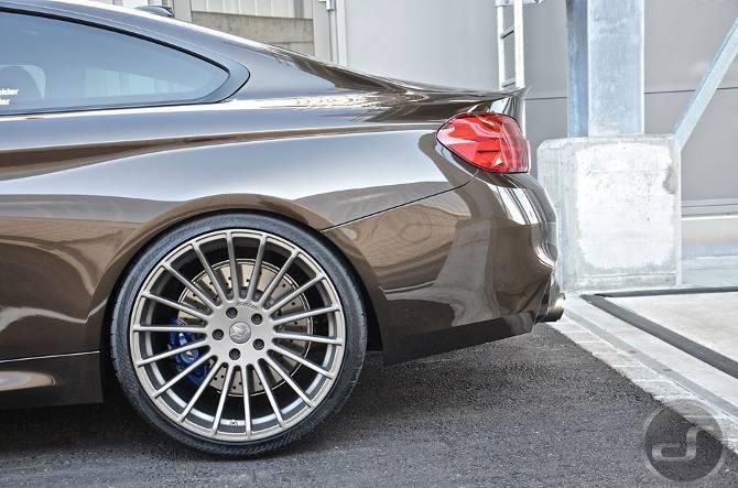 Тюнинг BMW M4 F82 в Pyrite Brown DS Automobiles - 11