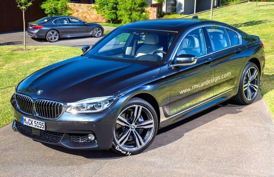 Фото BMW G30 5 Series 2016-предварительные фото