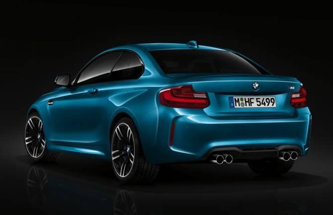 BMW M2 F87 - задняя часть