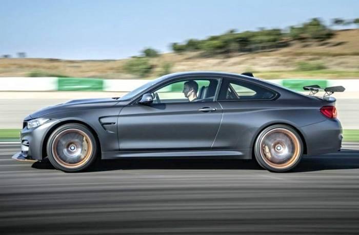BMW M4 GTS F82 - вид сбоку