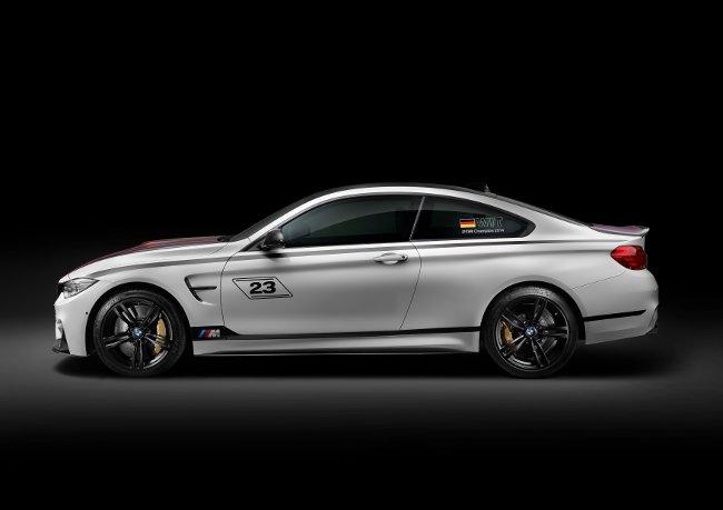 BMW M4 DTM Champion Edition F82 - сбоку