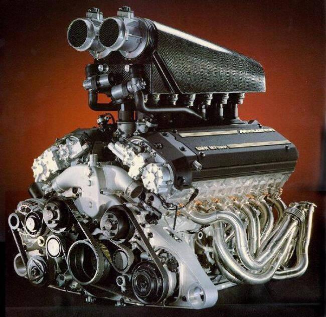 Фото двигателя для МакЛарен - BMW S70-2