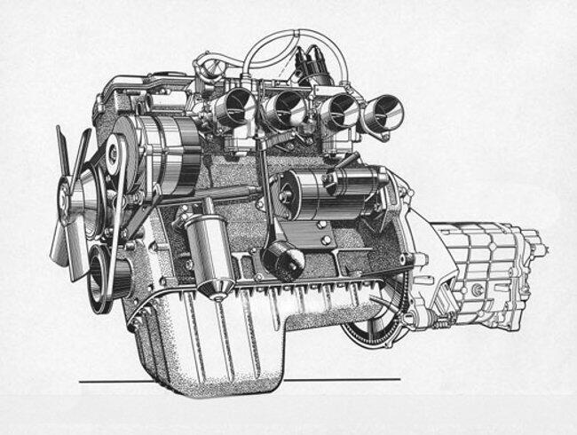 Фото двигателя BMW 1600-GT-Glas