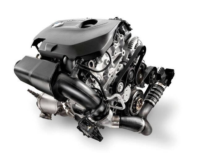 Фото двигателя BMW B37 для 1 и 2 серии