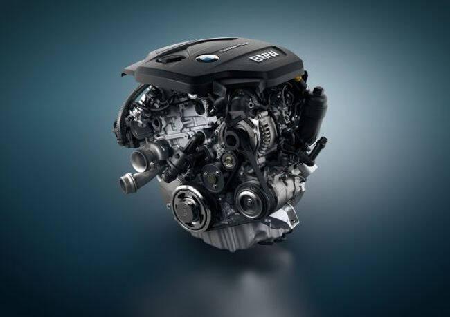 Фото двигателя BMW B37 - 3-цилиндровый дизельный