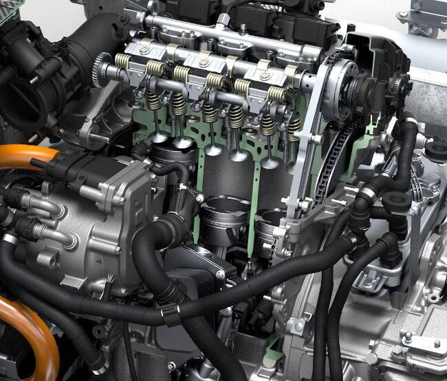 Фото двигателя BMW B38 для i8