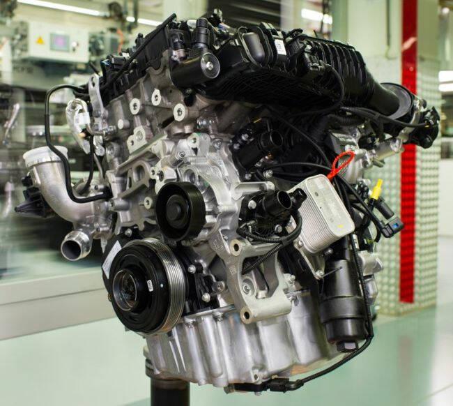 Фото двигателя BMW B38 - 1
