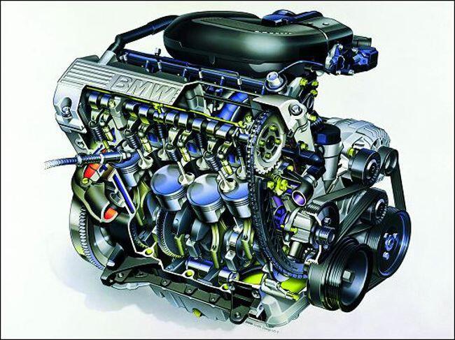 Фото двигателя BMW M43 - 2