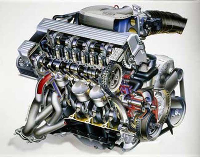 Фото двигателя BMW M44 - 3