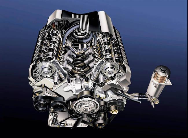 Фото двигателя BMW M62TU
