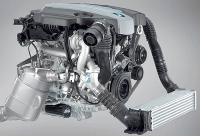 Фото двигателя BMW N47 - 1