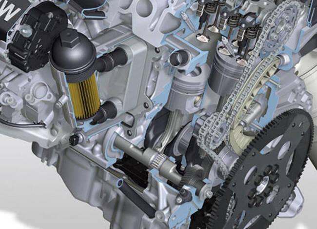 Фото двигателя BMW N47 - 2