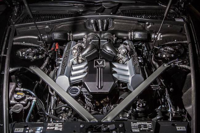 Фото двигателя BMW N74B66 для Rolls-Royce
