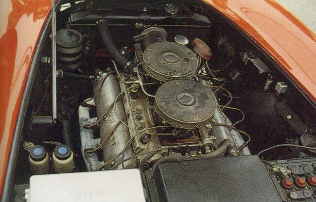 Фото двигателя BMW OHV V8 - M503
