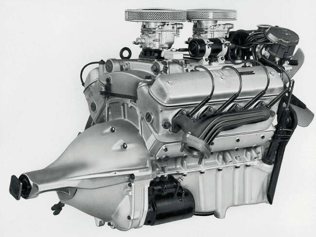 Фото двигателя BMW OHV V8