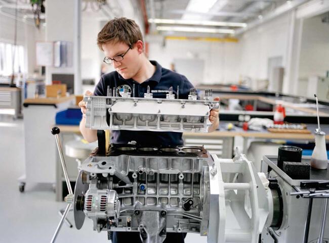 Фото двигателя BMW P45 - 1