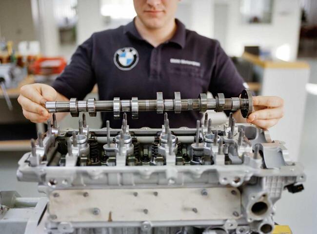 Фото двигателя BMW P45 - 3