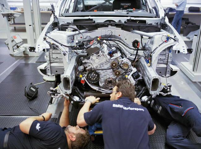 Фото двигателя BMW P45 - 6