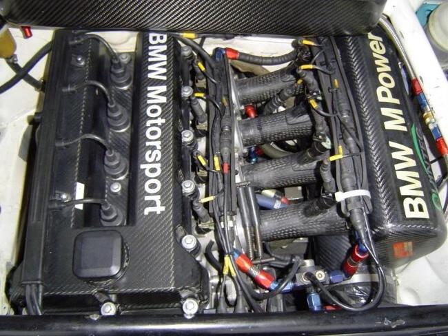 Фото двигателя BMW S42- 2