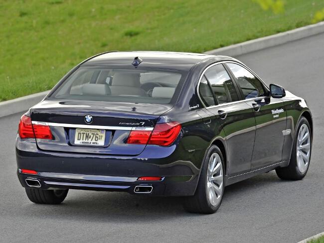 BMW ActiveHybrid 7 F04 - 16