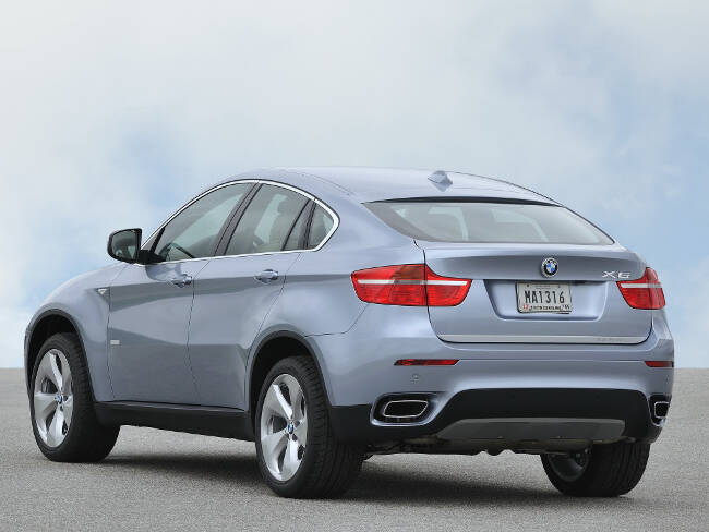 BMW ActiveHybrid X6 E72 - 7