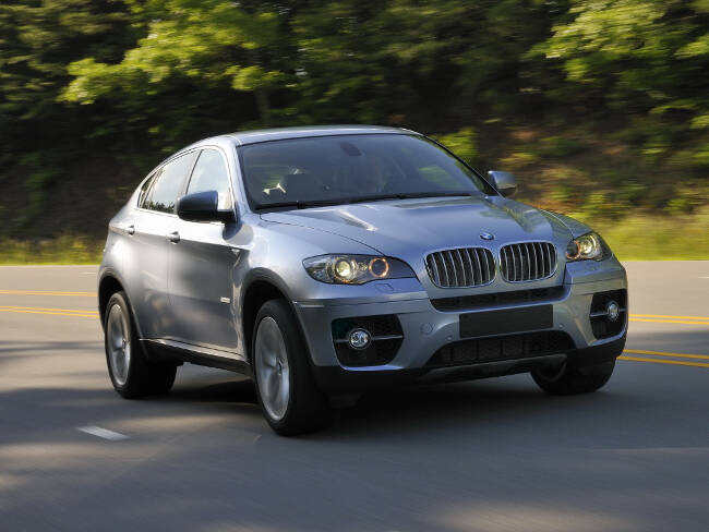 BMW ActiveHybrid X6 E72 - 8