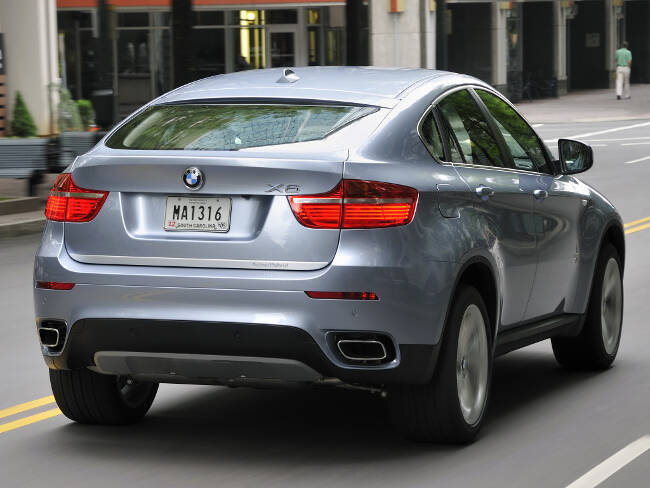 BMW ActiveHybrid X6 E72 - 9