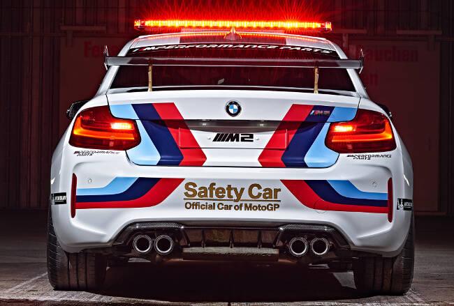 BMW M2 MotoGP Safety Car F87 - 6