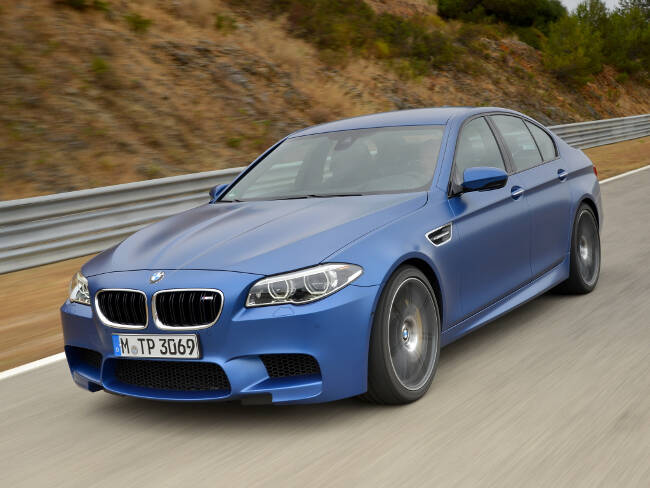 BMW M5 Competition Package F10 - 2