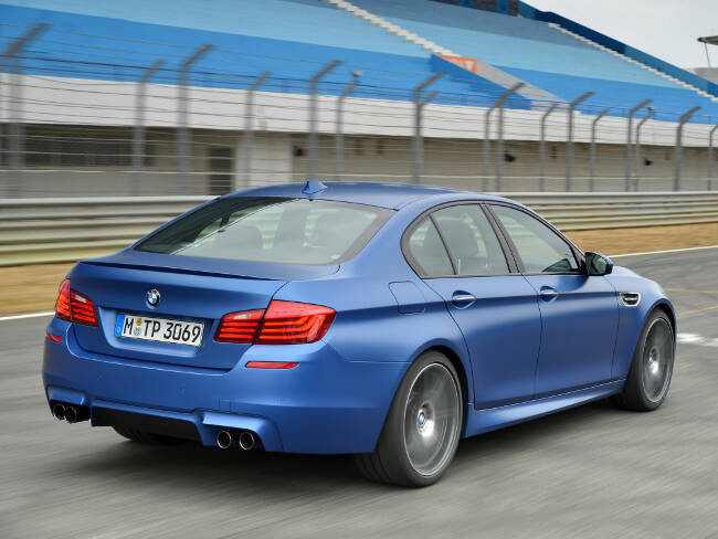 BMW M5 Competition Package F10 - 3