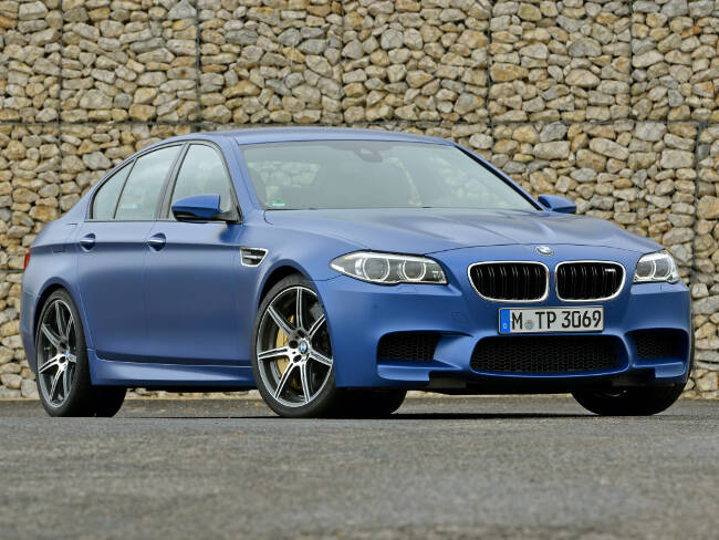 BMW M5 Competition Package F10 - 5