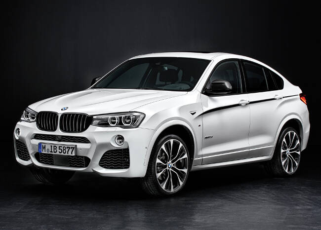 BMW X4 M Performance Accessories F26 - 1