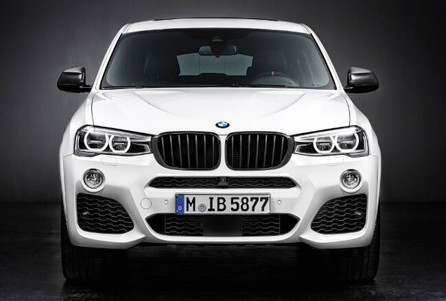 BMW X4 M Performance Accessories F26 - 3